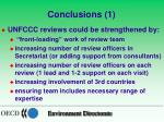 conclusions 1