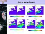 gulf of maine export