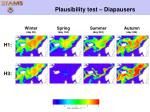 plausibility test diapausers
