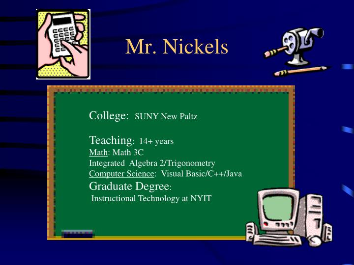 mr nickels n.