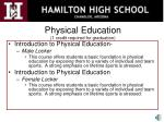 physical education 1 credit required for graduation