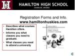 registration forms and info www hamiltonhuskies com