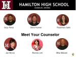 meet your counselor