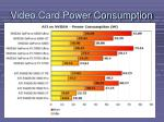 video card power consumption