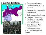 final unification