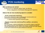 pon monitoring