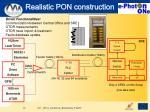 realistic pon construction