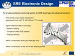 sre electronic design