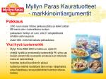 myllyn paras kauratuotteet markkinointiargumentit3