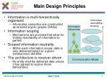 main design principles