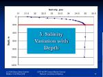 3 salinity distribution