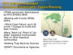 nyc delaware aqueduct shutdown catastrophic failure planning