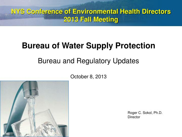 nys conference of environmental health directors 2013 fall meeting n.