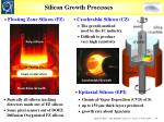 silicon growth processes
