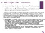 cma analysis of otc derivatives cont