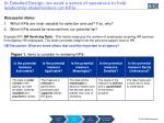 in detailed design we used a series of questions to help leadership stakeholders cut kpis
