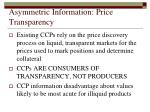 asymmetric information price transparency
