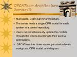 opcateam architecture overview 1
