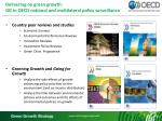 delivering on green growth gg in oecd national and multilateral policy surveillance
