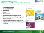 delivering on green growth oecd sectoral and thematic green growth studies