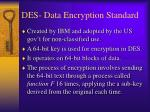 des data encryption standard