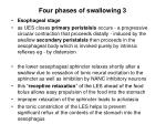 four phases of swallowing 3