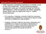 general purpose equipment1