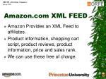 amazon com xml feed