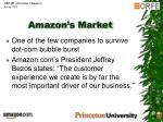 amazon s market
