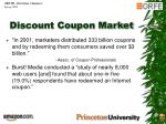 discount coupon market