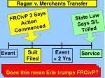 ragan v merchants transfer