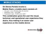 mobile stacks