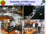 assembly of fmd3 cone and fmd2 at nbi1