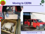 moving to cern