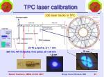 tpc laser calibration