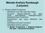 metode analisis rumbaugh lanjutan3