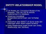 entity relationship model1