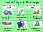 look and say as in the example