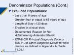 denominator populations cont1