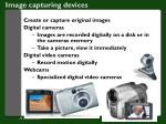 image capturing devices