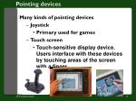 pointing devices1