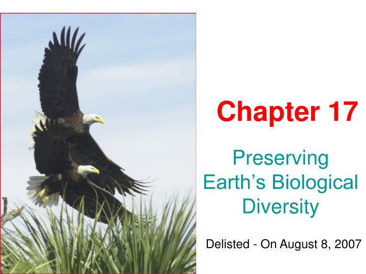 reasons for preserving a diversity of life on earth Biodiversity or biological diversity is a term that describes the variety of living beings on earth in short, it is described as degree of variation of life biological diversity encompasses microorganism, plants, animals and ecosystems such as coral reefs, forests, rainforests , deserts etc.