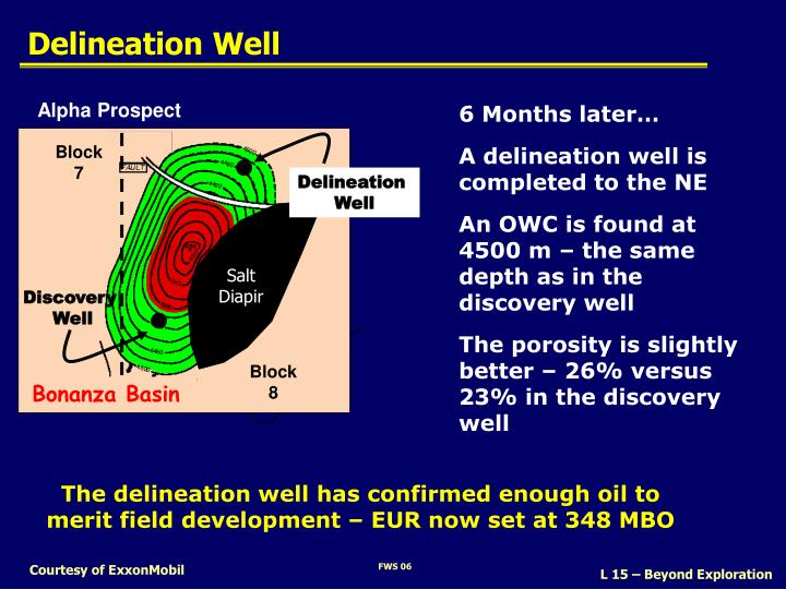 delineation well n.