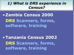 recent drs census projects1