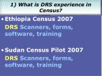recent drs census projects2