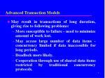 advanced transaction models1
