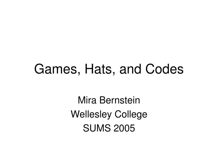 games hats and codes n.