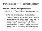 perfect code perfect strategy1