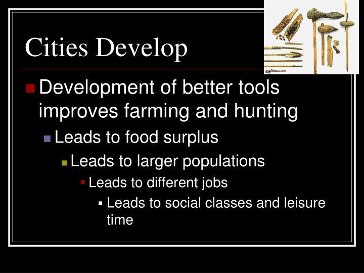 Cities Develop