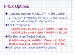 phlx options